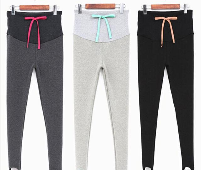 Wool Cotton Leggings Pregnant Leggings Femme Enceinte Spring Maternity Pants Maternity Clothes Thickened With Velvet Syhb From Gaozang