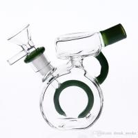 Glass Bongs Water Pipes 11cm Bowl Joint Size 14.4mm Two ...