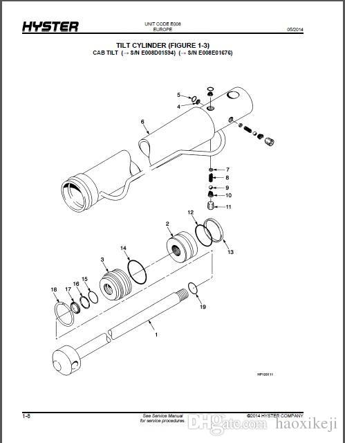 hyster spare parts catalogue
