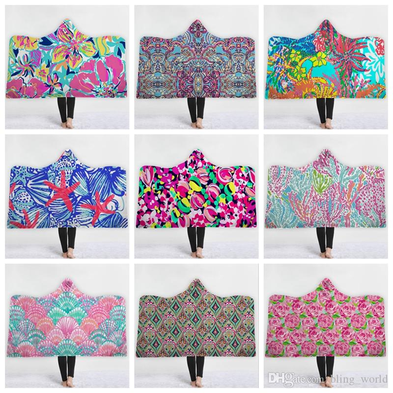 lilly hoodie blanket personalized
