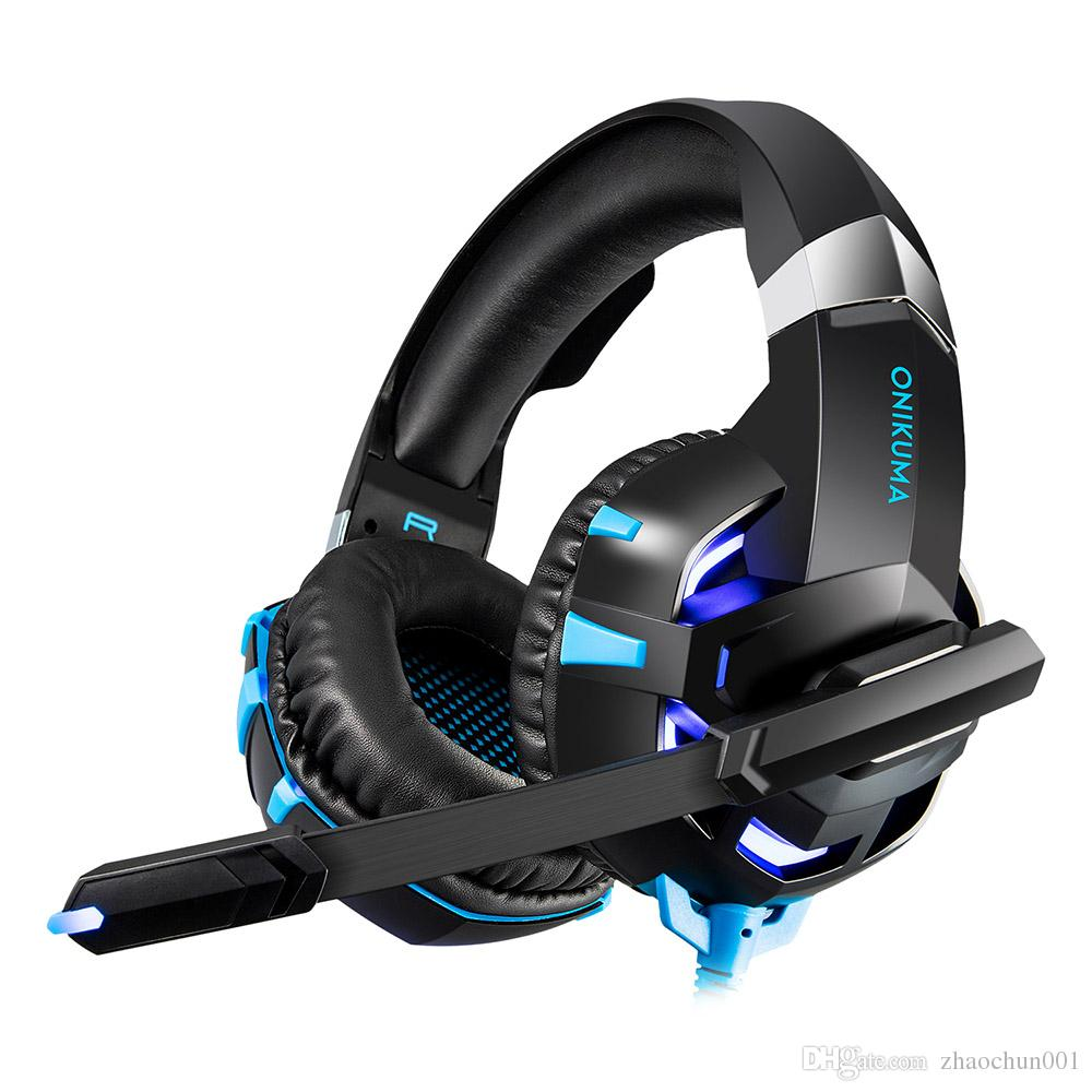 medium resolution of onikuma k2a gaming headset ps4 wired stereo game headphones casque gamer headset with mic for computer laptop phone led lights headphone bluetooth