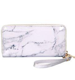 marble printing mirror pu leather long money purse women elegant wallets zipper large card holder luxury handy wallet clutch bag steam wallet wallets from  [ 1001 x 1001 Pixel ]