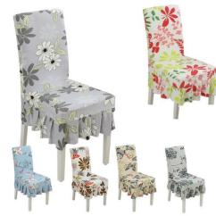 Dining Chair Covers In Store Outdoor Wood Rocking Chairs Spandex Floral 15 Styles Anti Dirty Folding Cheap Weddings For Sale Best Made