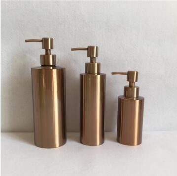 kitchen sink soap dispenser bottle slate floor 2019 stainless steel liquid countertop chrome 250ml 350ml 550ml logo custom