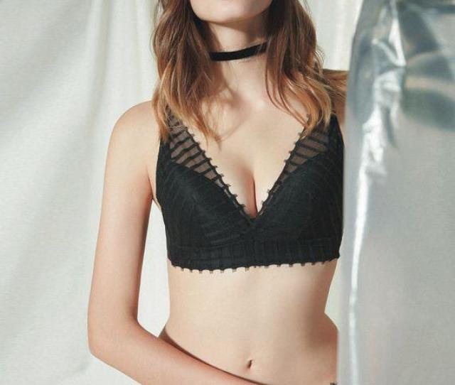 2019 2018 Hot Sale The New Japanese Girls Comfortable Breathable Ultra Thin Transparent Lace Underwear Sexy Rims Bra Suit From Yukking 16 25 Dhgate Com