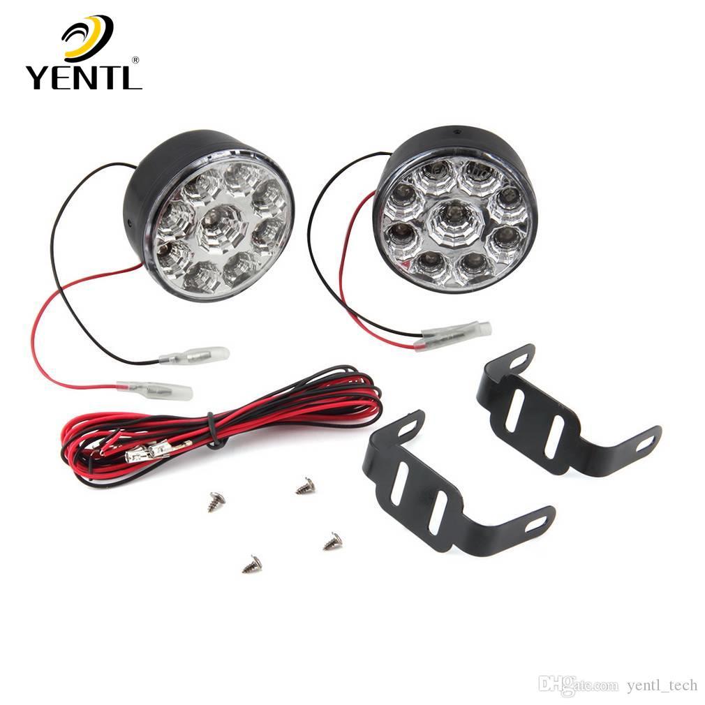 hight resolution of yentl 2pcs 2 7w led drl lamp running light jpg