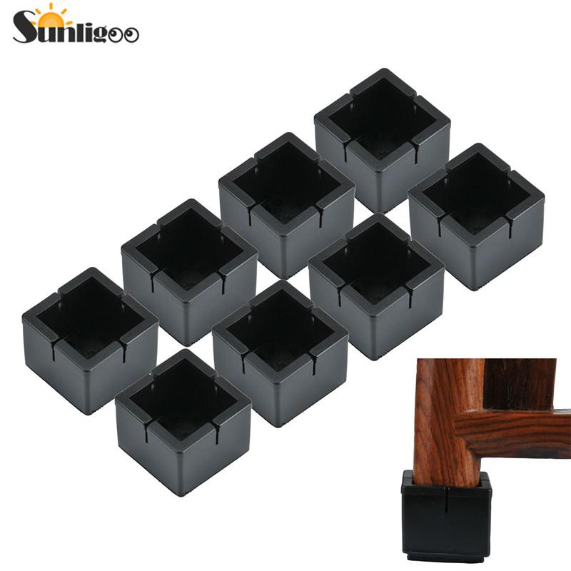 chair leg floor protector office with lumbar support cover sunligoo new square pads protection furniture protectors table covers caps anti slip prevent scratches cheap to