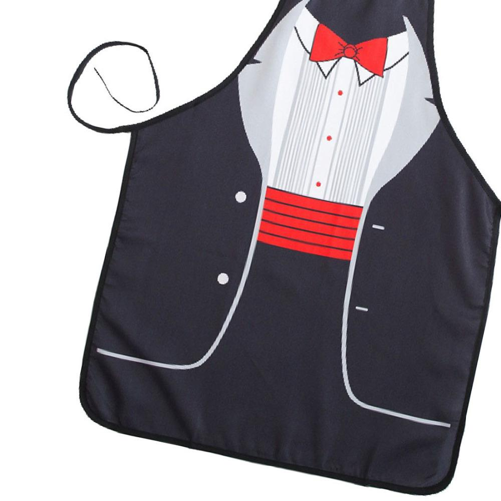 cute kitchen aprons how to organize my new novelty cooking red bowknot print sexy apron baking present pinafore chef funny black personalised from
