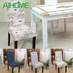 Dining Chair Covers For Home Patio Tall Table And Chairs Floral Print Cover Elastic Spandex Cloth Universal Stretch Rental Tablecloths Slip Couches From Jie123jie