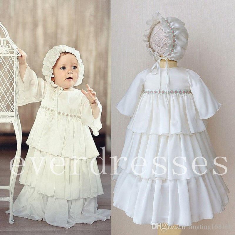 baby robe baptism dresses
