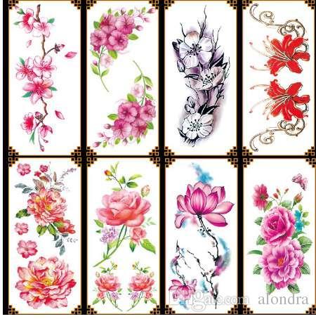 Tatuagens Femininas No Antebraco Flores Delicadas