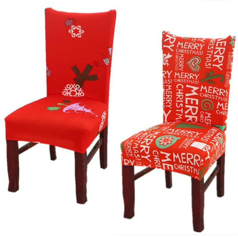 christmas folding chair covers swivel without wheels home dining multifunctional antifouling cover removable elastic xmas slipcovers seat mma1052