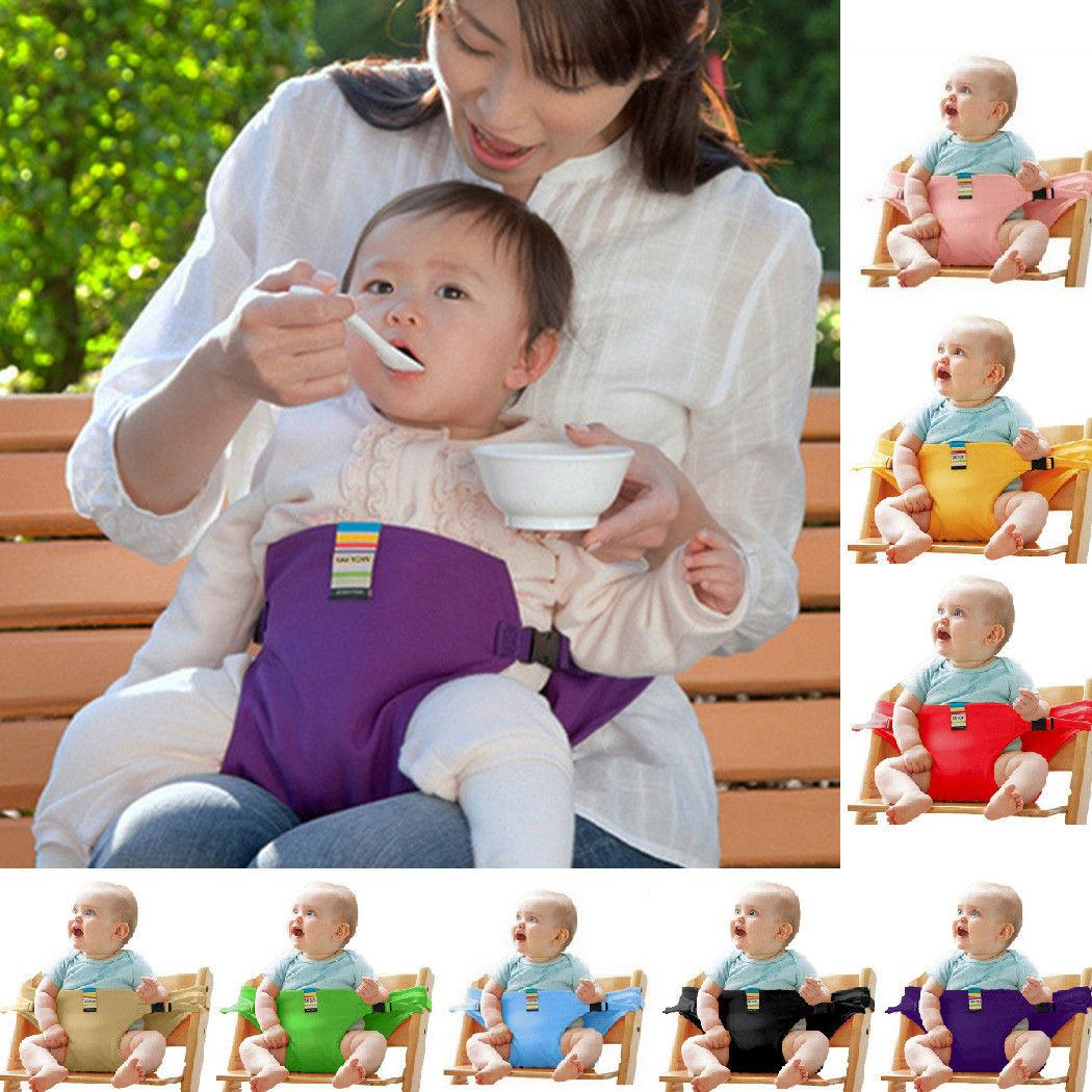 portable high chair booster dark wood dining chairs 2019 for kids baby outdoor sport safety seat strap harness belt toy dda393 from top 4 18 dhgate com