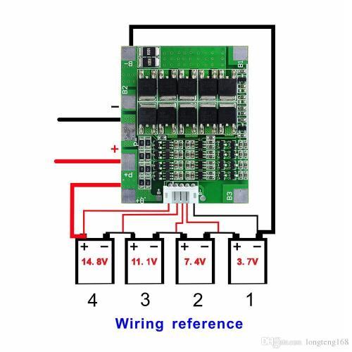 small resolution of 4s 30a 14 8v li ion lithium 18650 battery jpg