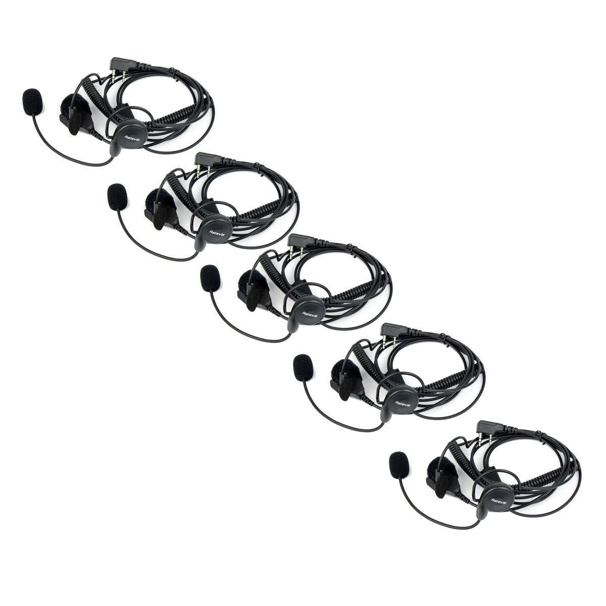 hight resolution of 5x 2 pin earpiece mic finger ptt headset for kenwood baofeng uv 5r 777 888s top kids walkie talkie long range walkie talkie from zyggood 52 31 dhgate com