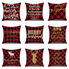 Christmas Chair Covers Ebay Kmart Kids Chairs Sales Background Day Linen Pillowcase Office Pillow Cover Cushion Lawn Pads Seat Cushions For Outdoor From Ywjhds