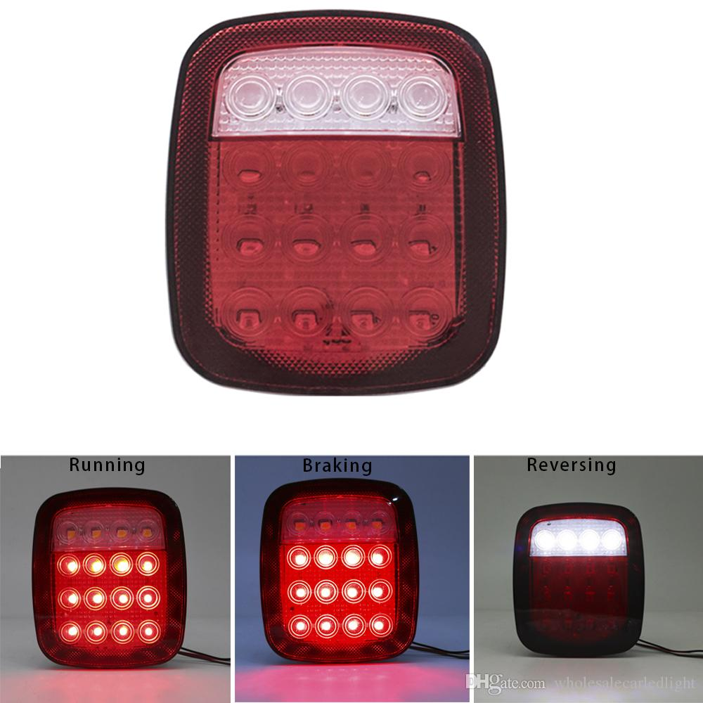 hight resolution of 2019 x led tail lights for jeep tj wrangler 2001 2002 2003 2004 2005 2006 year from wholesalecarledlight 34 18 dhgate com