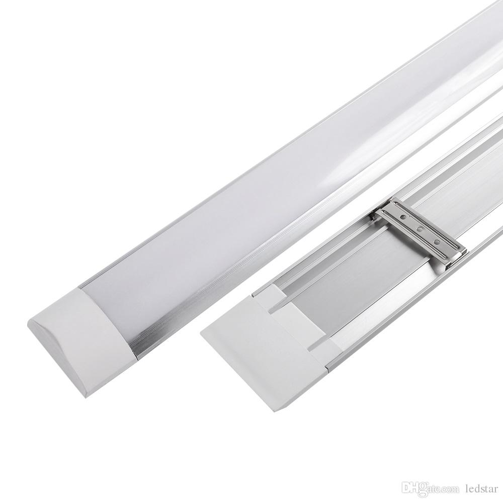 hight resolution of led tri proof light batten t8 tube 1ft 2ft 3ft 4ft explosion proof two led tube lights replace fluorescent light fixture ceiling grille lamp led tube lamp
