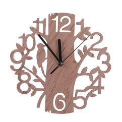 Wooden Kitchen Clock Frameless Cabinets Creative Tree Shaped Wall House Living Room Decoration Square Clocks Stainless Steel From Dtanya 31 66 Dhgate Com