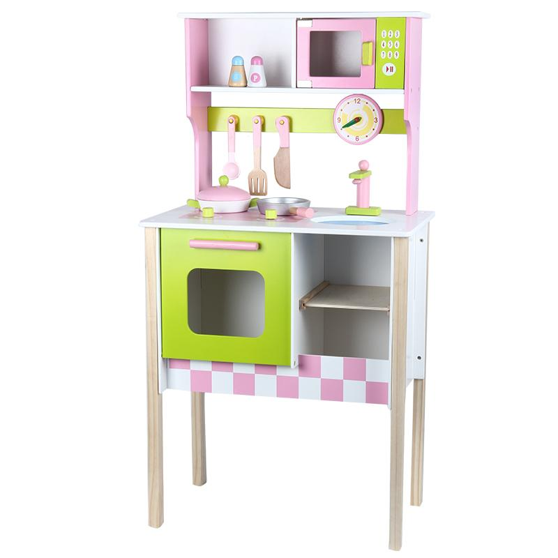wood kitchen playsets cheap towels 2019 toy kids cooking pretend play set toddler wooden playset gift from beasy 186 31 dhgate com