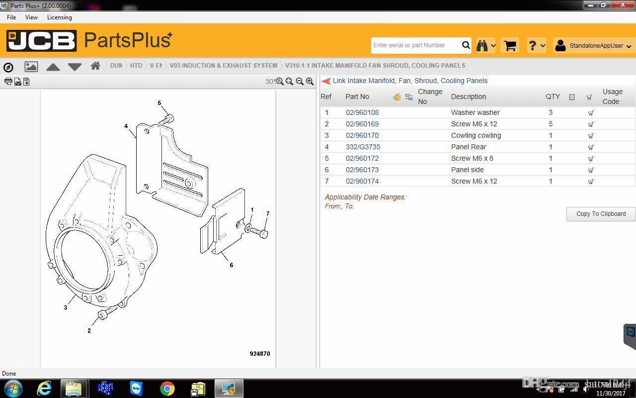 hight resolution of jcb spare parts plus 2 00 2017 service manual 2017