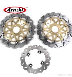 2019 arashi 02 03 ninja zx9r front rear brake rotors brake disc kit for kawasaki zx 9r 2002 2003 zx 9r zx12r zx 12r from arashidh 230 15 dhgate com [ 1000 x 1000 Pixel ]