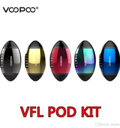 2019 voopoo vfl refillable pod system kit 650mah 0 8ml capacity with ceramic coil electronic vaping kits pods e cigarette american football from elegotech  [ 1000 x 1000 Pixel ]
