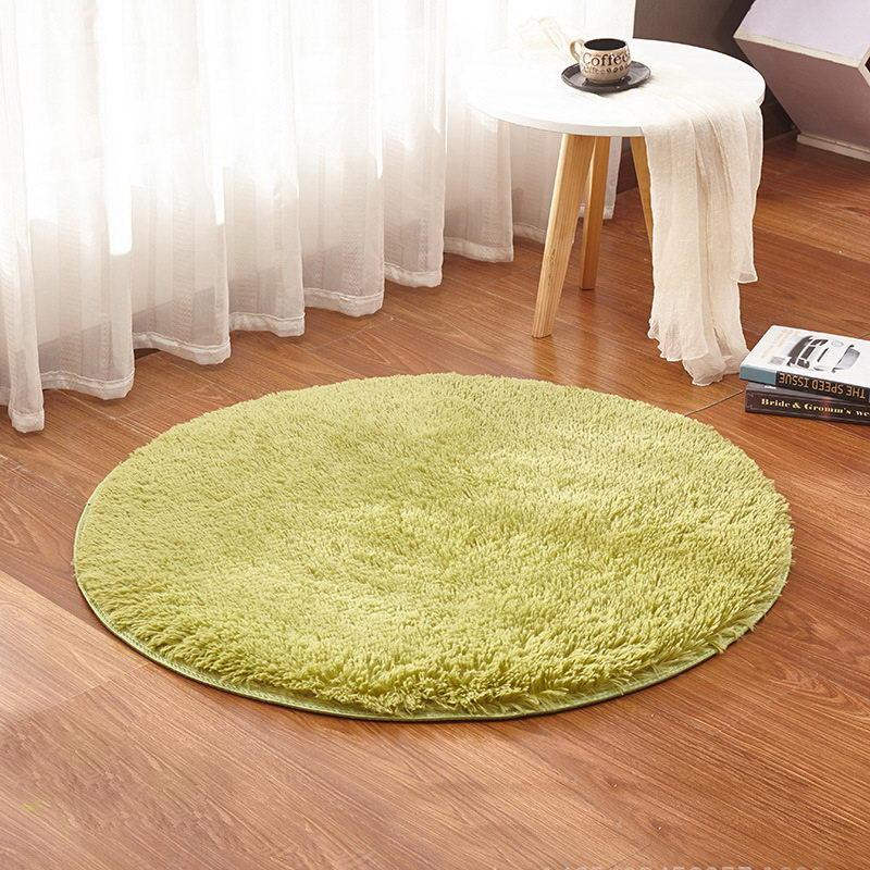 cheap living room carpets arabian inspired decor grass green round rug yoga carpet kids rugs soft and fluffy warm custom size diameter 60 80 100 160cm canada 2019 from stunning88