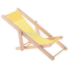 Wooden Lounge Chair Task Target Yellow White Striped For 1 12 Scale Dollhouse Miniature Furniture Lights Toy From Phononame 26 57 Dhgate Com