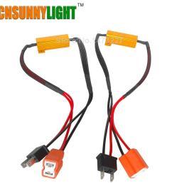 cnsunnylight led bulb decoder resistor canbus jpg [ 1000 x 1000 Pixel ]