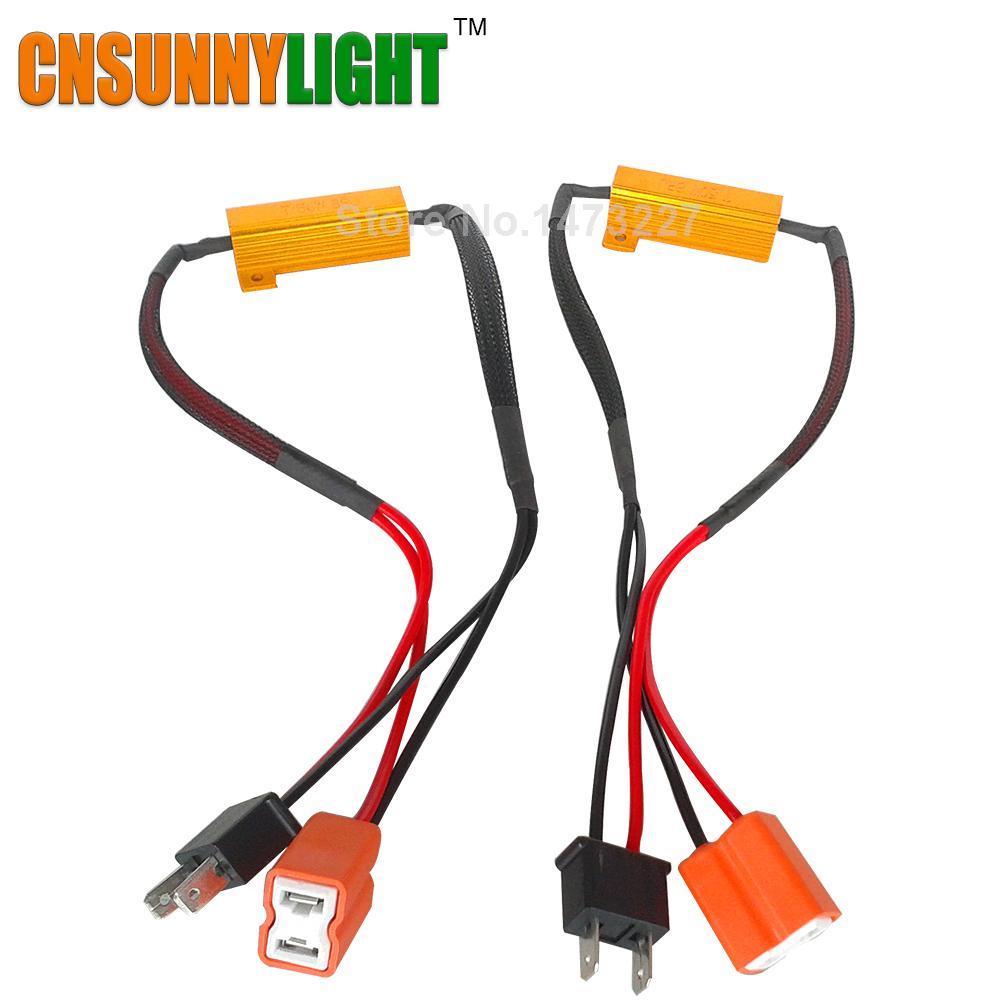 medium resolution of cnsunnylight led bulb decoder resistor canbus jpg