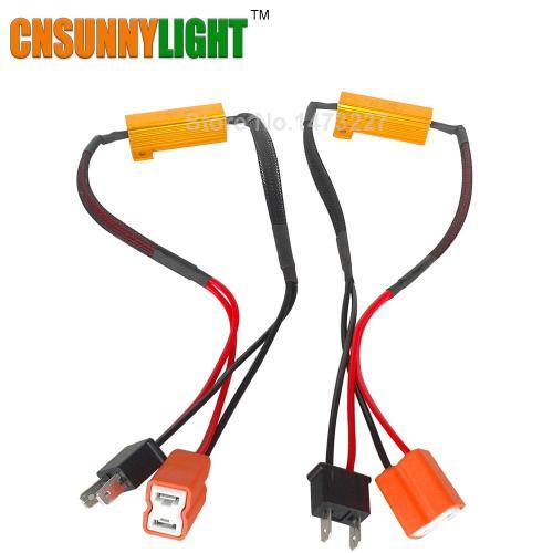 small resolution of cnsunnylight led bulb decoder resistor canbus jpg
