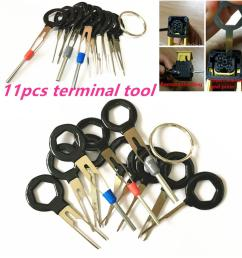 2019 auto car circuit board plug wire harness terminal extractor pick connector crimp pin back needle remove car repair tool from jihua company  [ 1200 x 1200 Pixel ]