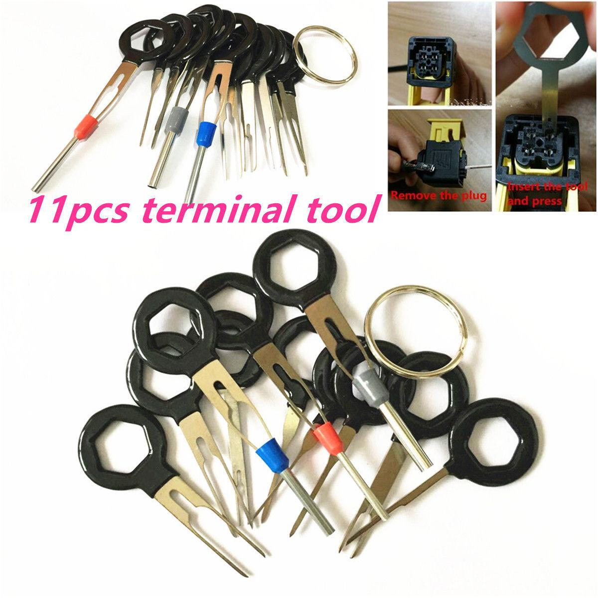 hight resolution of 2019 auto car circuit board plug wire harness terminal extractor pick connector crimp pin back needle remove car repair tool from jihua company