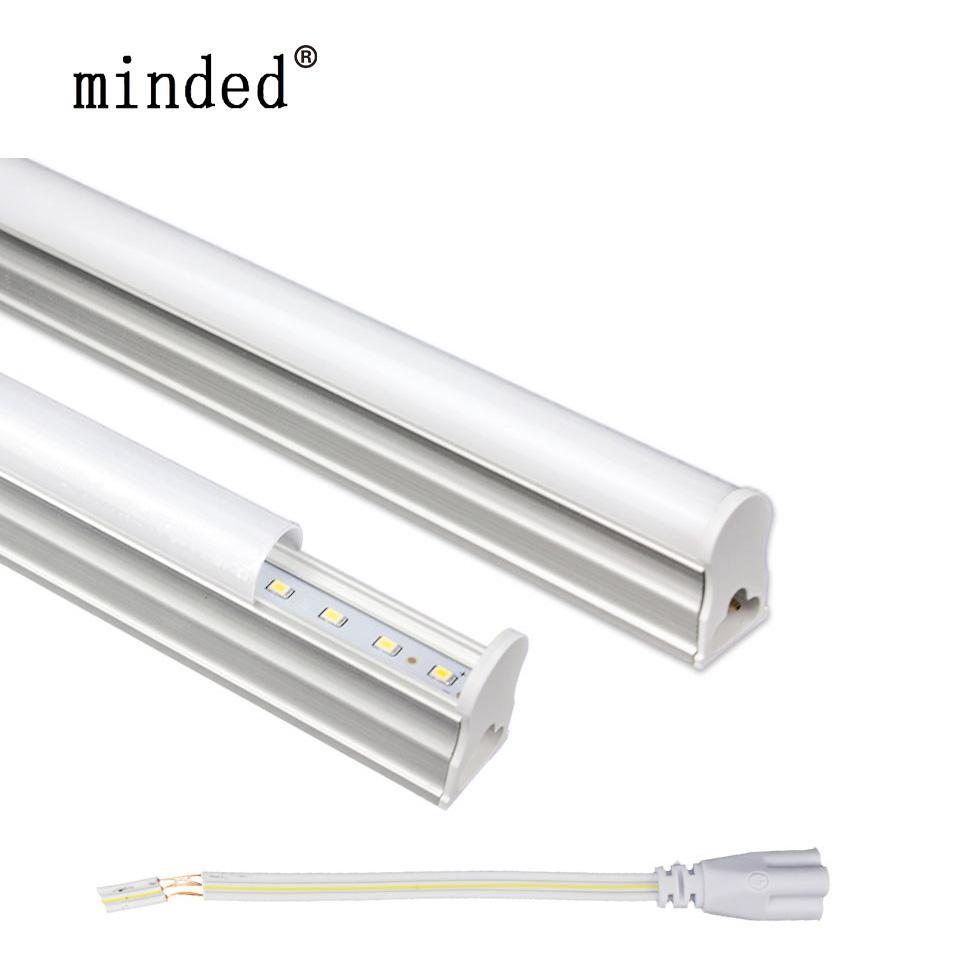 hight resolution of led tube t5 lamp 60cm 30cm 10w 6w led 220v bulbs tube light t5 integrated tubes lamp 1ft 2ft tubo bulbs high brightness