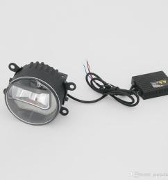 universal 3 5 inch led fog light with drl for toyota nissan suzuki ford peugeot citroen renault [ 900 x 900 Pixel ]