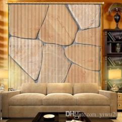 Living Room Curtains For Sale Simple Tv Unit Designs 2019 Custom Any Size Top Luxury Stone Printing Curtain Bedroom 3d Digital Drapes Cotinas Para From Yiwu2017