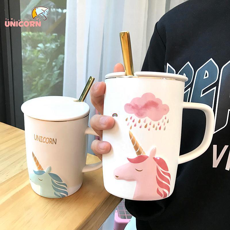 ins cute unicorn cups