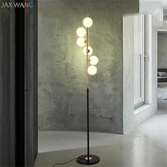 Standing Lights For Living Room Apartment Office Ideas 2019 Modern Nordic Led Designer Floor Lamps Creative Bubble Glass Decor Study Bedroom Stand Tall Lamp From Goddard