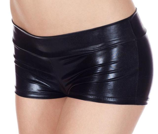 2019 Womens Low Waisted Sexy Lycra Metallic Rave Booty Dance Shorts Spandex Shiny Pole Dance Shorts Gold Silver For Stage From Darnelly 26 47 Dhgate Com