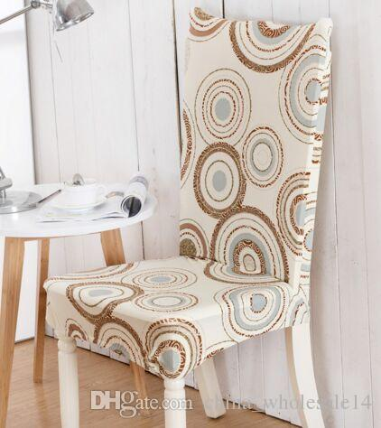 chair covers modern handmade dining cover spandex floral printed universal stretch short removable elastic soft cloth banquet style rent and sashes
