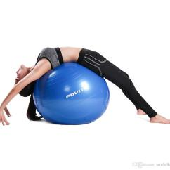 Yoga Ball Chair Exercises What S The Fic Povit 65cm Fitness Gym Pilates Balance Fitball Exercise With Pump Indoor Training Body Building Vb Chairs Balls