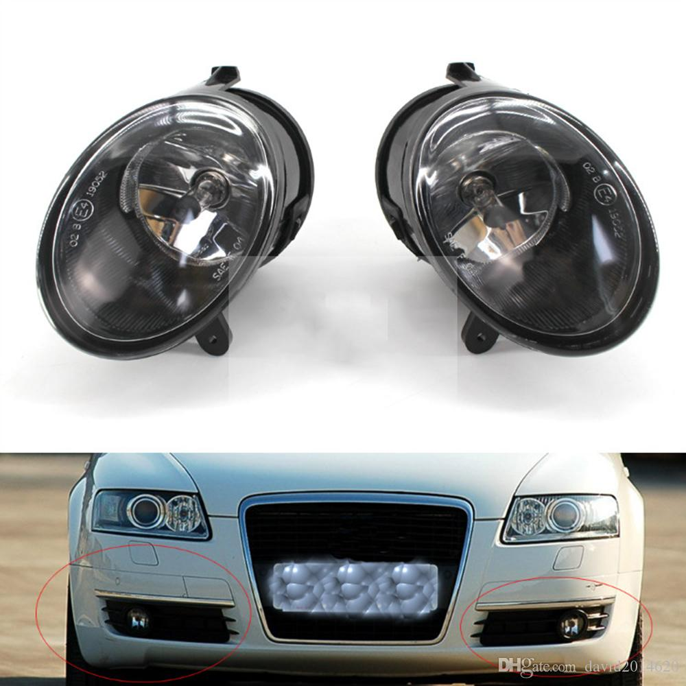 medium resolution of for audi a6 c6 2005 2006 2007 2008 auto fog light lamp car front bumper grille driving lamps fog lights set kit 4f0 941 699 car fog lamps online india car