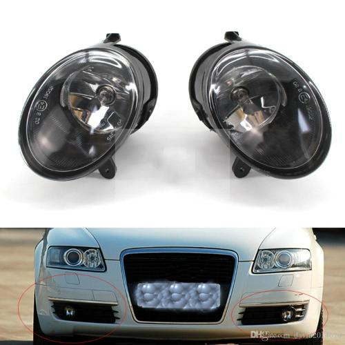 small resolution of for audi a6 c6 2005 2006 2007 2008 auto fog light lamp car front bumper grille driving lamps fog lights set kit 4f0 941 699 car fog lamps online india car