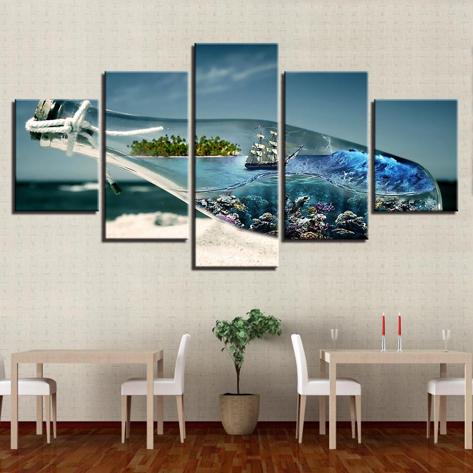 wishing chair photo frame hanging stand pier one 2019 home decoration canvas pictures wall art ocean world in a bottle paintings modular hd prints beach sailboat poster from z793737893