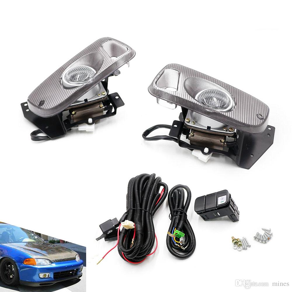 hight resolution of 95 accord headlights wiring harness wiring schematic diagramcnspeed fog light bumper lamp 2 3d eg d15
