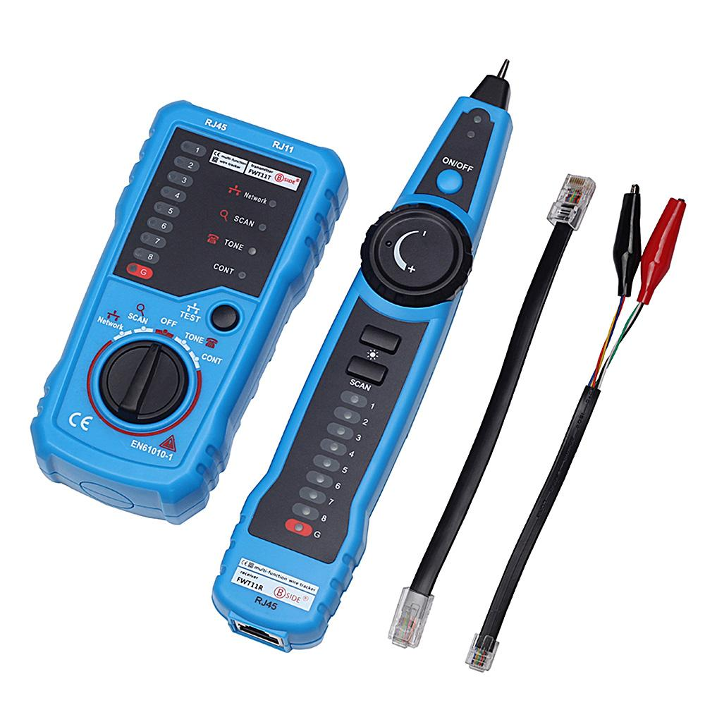 hight resolution of 2019 rj11 rj45 cat5 cat6 telephone wire network tracker tracer toner ethernet lan cable tester detector line finder gadgets from cocosoly 33 16 dhgate