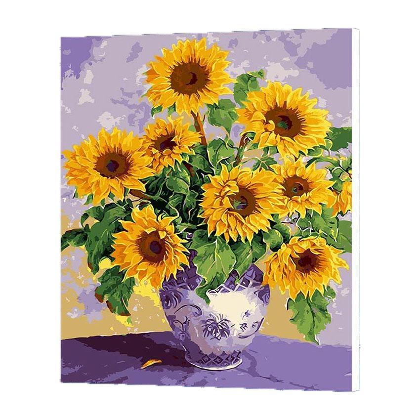 wonzom sunflowers oil painting
