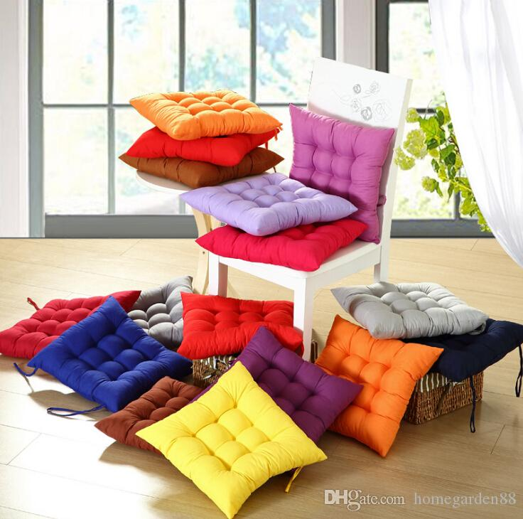 wholesale chair cushions anywhere slipcover etsy student cushion upholstery dining solid color office nantong factory direct sales