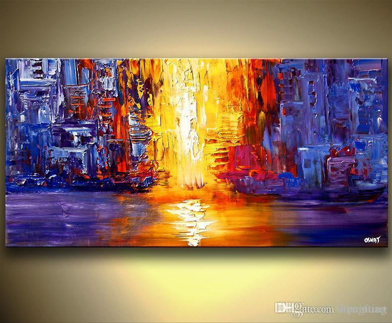handmade abstract bright color